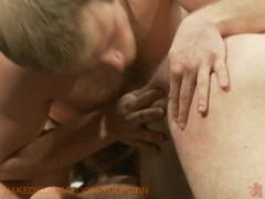 Picture Paul Wagner swallows James Gates big uncut c...