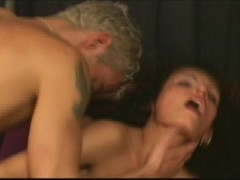 Picture Sexy gal gets all holes filled