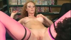 Audrey stocking sex