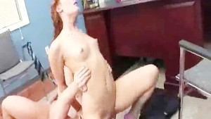 Sexy hot chick craving for a hard dick