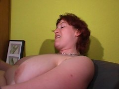 Jizz on Big MILF Titties [CLIP]