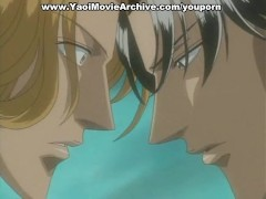 Picture Cool yaoi blonde guy falls for younger boy