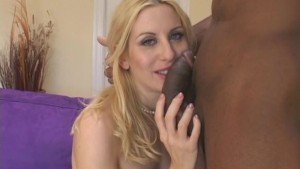 Passionate Lover Worships Huge Cock