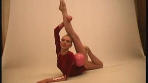 Amazing flexible gymnast girl Maria