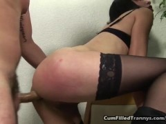 Picture Tranny Anal Fucked And Creampied
