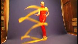 Russian Ballerina Maria showing flexi