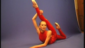 Russian Ballerina Maria showing flexi