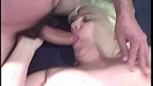 Horny Blonde fucks and sucks
