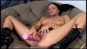 Dildo Fucking Young Pussy
