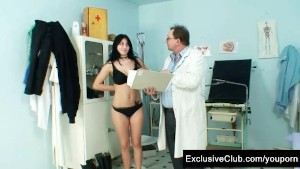 Adriana Visiting Gyno Doctor for Pussy Gyno Exam