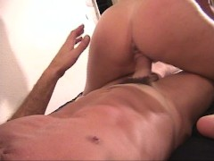 Picture Blonde likes juicy drippings pt 1/2