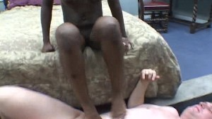 Black feet play with white dick PT.3/3