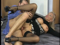 Hot older lady loves the hard dick