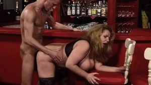 FAT Chick fucked in the Bar!