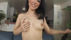Two Guys Fuck And Creampie Sexy Brunette