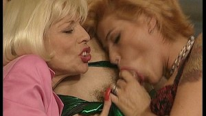 Two ladies only want to eat cock