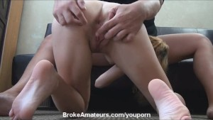 Amateur girl casting video and facial