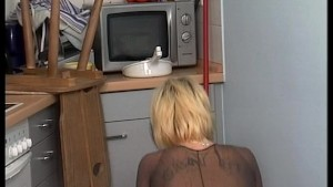 If you clean the kitchen i'll help you empty your balls (clip)