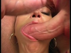 - Two cocks in mouth at ...