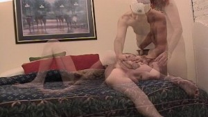 Two horny guys spend 5 minutes in heaven  (CLIP)