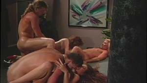 Two hot couples fucking each other (clip)