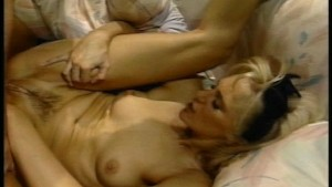 Hot blonde leaves her boots on while they fuck