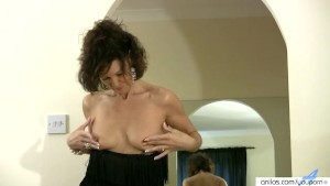 Horny housewife masturbation