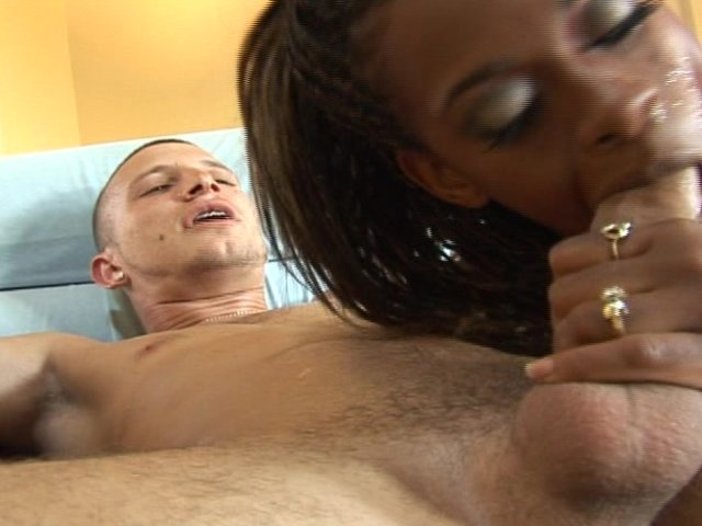 white girl fucks black guy