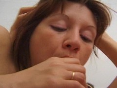 Horny house wife gets fucked doggy style