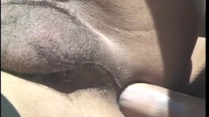 One tall chick with a dick gets fucked by his prick (clip)