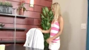 hot blonde gets fucked by her boss
