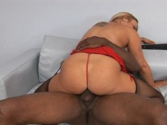 watch this white girl get fucked by black guy