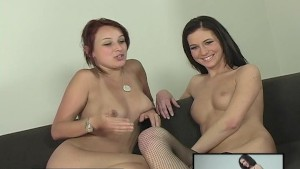 2 naked girls babbling - yep