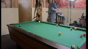 Game of pool turns into BJ