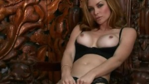 Heather Vandeven Stroking Her Pussy