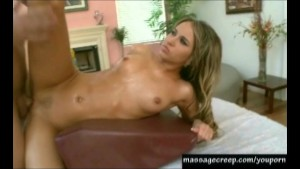Aleska Diamond Gets Pounded On The Massage Table