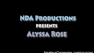 Alyssa Rose Amateur Creampies