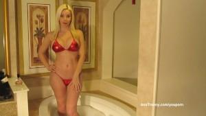 Ana Mancini Red Xmas Bikini