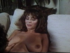 Big tits and a hairy pussy make his day