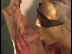 Series of 3 wacko euro sex scenes, including the Golden Girl sucking off Mr