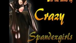Beautiful housewife homestrip in spandex