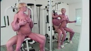 There is more to exercising than meets her pussy