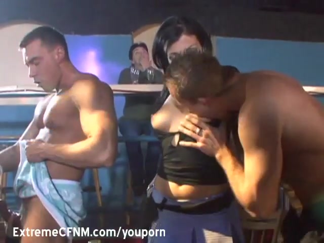 Male Strippers fuck the girls
