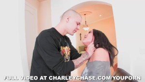 Super Hardcore Face Fucking on Charley Chase