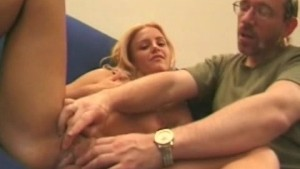 Russian chick Dora handjob fun