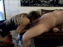 Kacie Hunt sucks cock PT.1/2