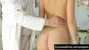 Misa visiting gyno clinic to have pussy examined