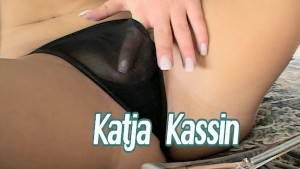 Katja wiggles her ass and fingers herself (clip)