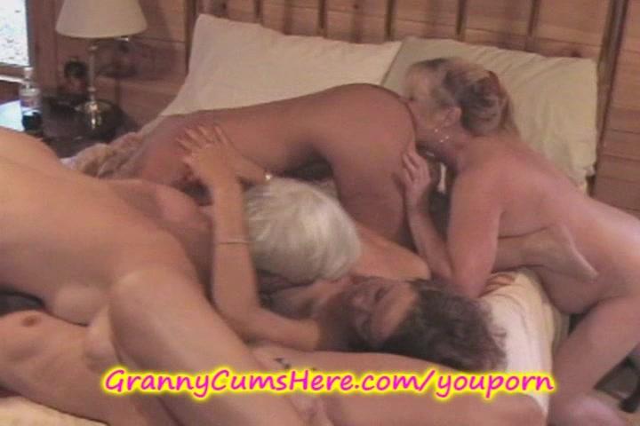 Wild LESBIAN Grannies have an ORGY