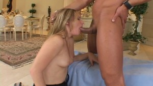 Katie mouth fucks Dicks dick (clip)
